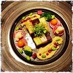 Salade folle de légumes cuits et crus