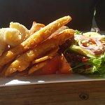 Mixed seafood platter