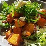 Oven Roasted Pumpkin and Fetta salad