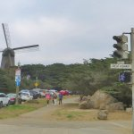 The Windmill north west entrance to Golden Gate Park