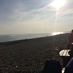 We stumbled in by chance at the end of a day out in Brighton . Great location , handy parking an