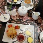 A lovely cream tea