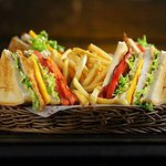 the classic club sandwich