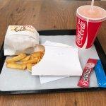 Chicken bacon avec frite et soda 9,50€