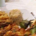 Beautiful food in pleasant surroundings
