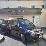 At the lovely Galway Bay Hotel