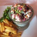 Assiette de la mer (poisson du moment : poulpe)