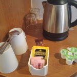 Room 302 tea/coffee making facility