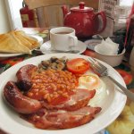 If you are a hungry hiker--the full English breakfast here will provide delicious fuel for hours