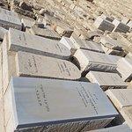 감람산에 있는 무덤 모습