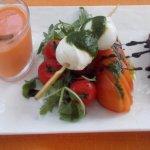 4 Tomato and Mozarella salad