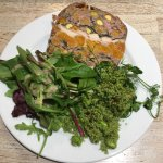 Pork terrine with apricots and pistachios