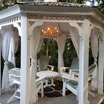 A perfect gazebo in a perfect place....