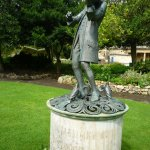 Mozart statue in the Gardens
