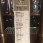 New Wine List