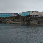 Hotel Icefiord (in blue)