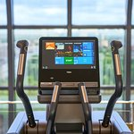 The Peak Health Club & Spa - Cross trainer with view