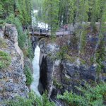 Foto van Sunwapta Falls and Canyon