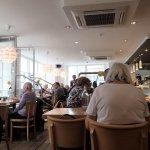 Seafood Cafe interior
