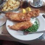 Regular fish and chips (which is large!!!)