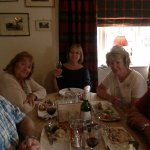 Some of the Winter family having a lovely lunch