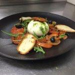 version tomate mozzarelle