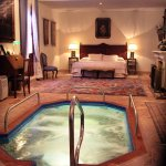 The best room in the place, with heated pool