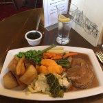 Midweek roast lamb. Outstanding