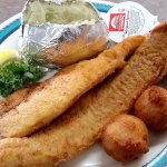 Whiting Fillet lunch
