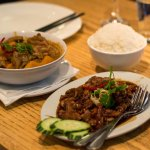 Massaman Curry and Angry Duck