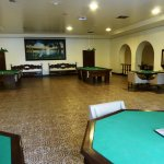 The game room...very old fashioned and nice...