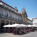 Plaza y terraza