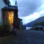 The hotel overlooking Loch Lochy.