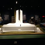 maquette du monument errigé sur la côte de vimy