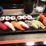 Beautiful great sushi