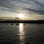 Sunset over Loch Insh