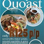 Sundays aren't Sundays without a proper old school Roast... or as we do.... Quoast... for only R
