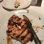 This was the replacement plate - completely overcooked
