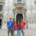 In Front of Duomo di Milano