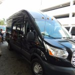 Hotel shuttle ride to cruise terminal at $5 per person