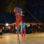 Caribbean night at the hotel, worth the $25 per person--delicious, fun!