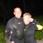 Night snorkel with the hotel's owners--saw all kinds of sea life!
