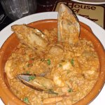 Jambalaya - bland, no presentation, not recommended