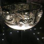 Silver bowl - Danish history