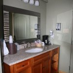 Sink & Coffee Service Separate From Bathroom