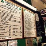 Shamrock menu