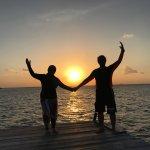 sunset di Belitung