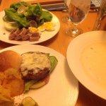 Room service food