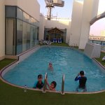 Pool on the Roof level