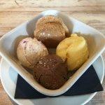 Ice cream sampler